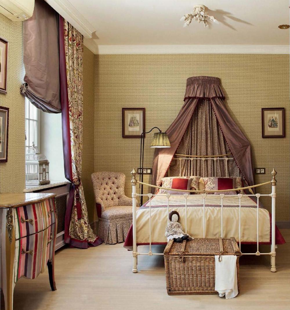 Римские шторы в детской